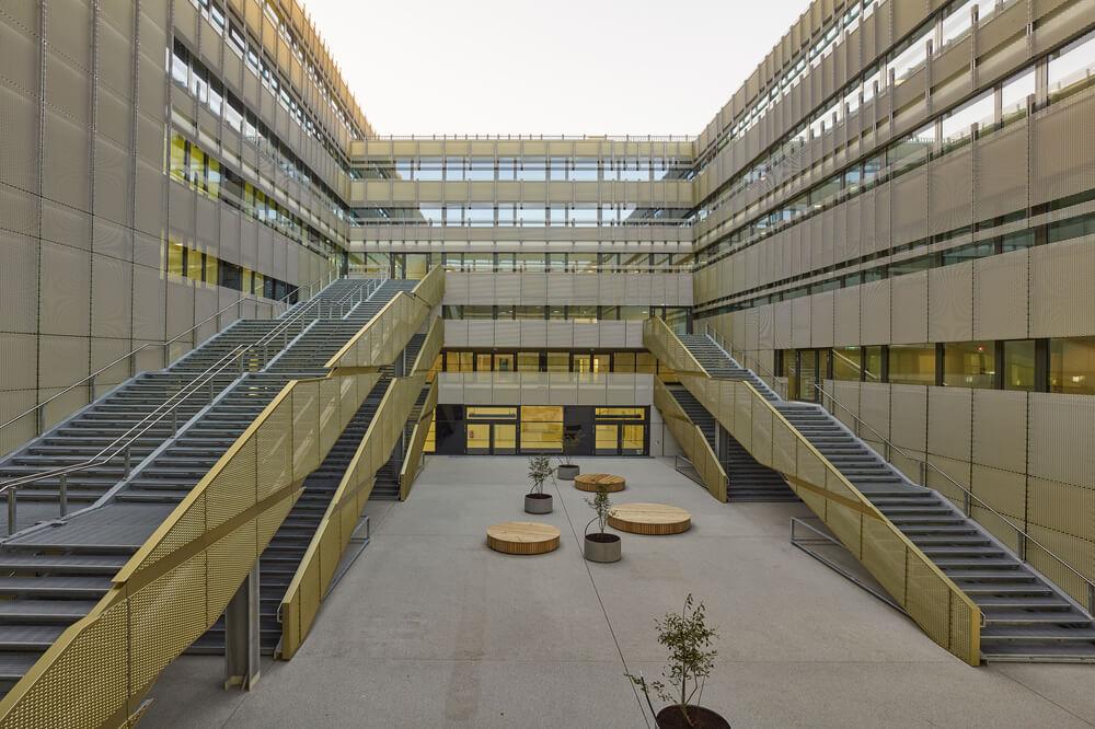 Campus der SFU Wien