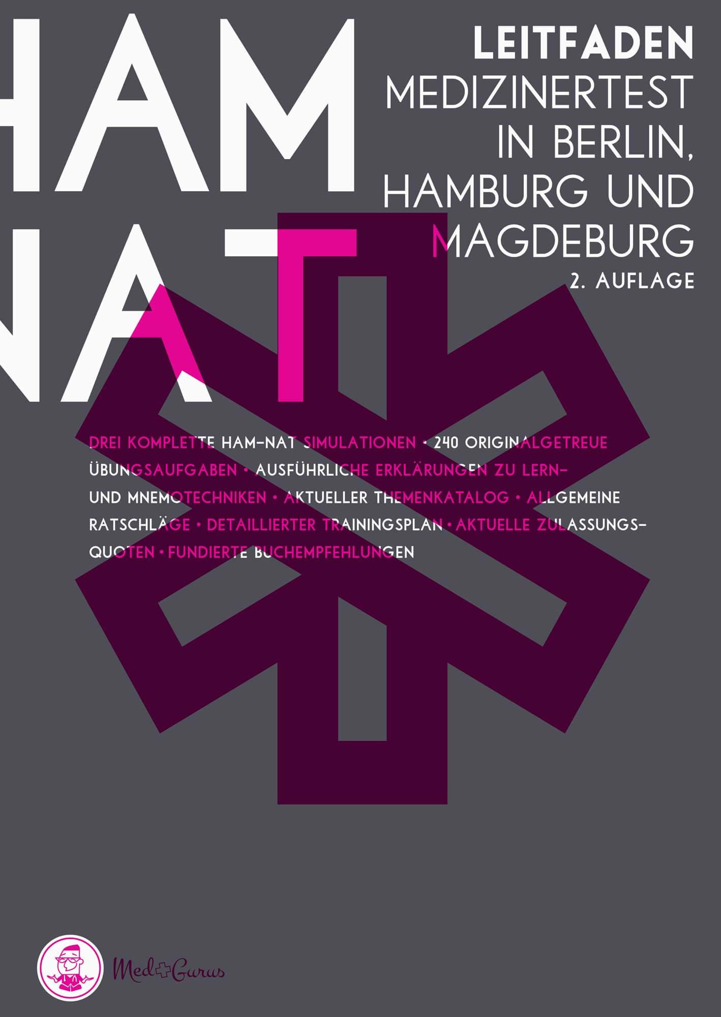 HAM-Nat Leitfaden 2019 / 2020 Berlin, Hamburg Magdeburg Cover