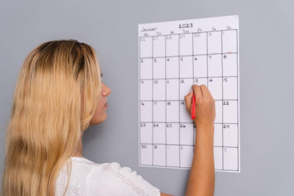 Bloß nicht zu viel Stress. Plane Dir Deine Vorbereitungszeit gut ein!