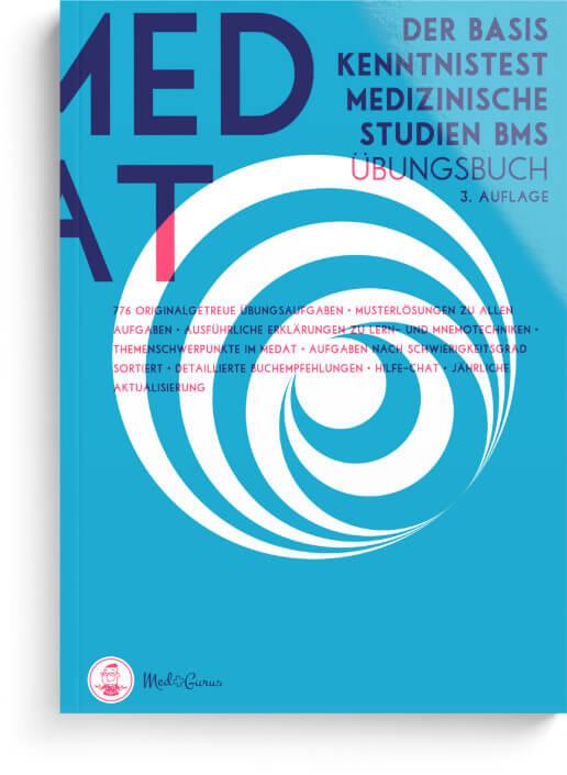 BMS MedAT Basiskenntnistest für medizinische Studien Cover Übersicht