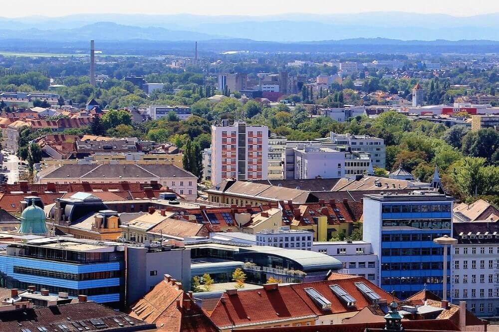 Graz von oben. © Moritz Hahn