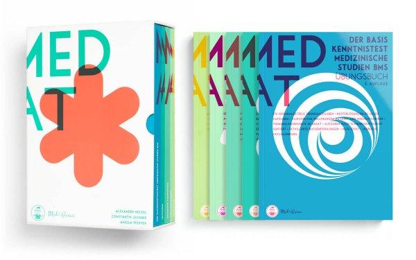 Kompendium zur Vorbereitung auf den MedAT 2019 Box mit Inhalt
