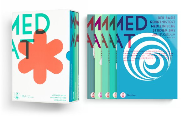 MedAT Kompendium 2020 Medizinaufnahmeverfahren Österreich Cover und Bücher