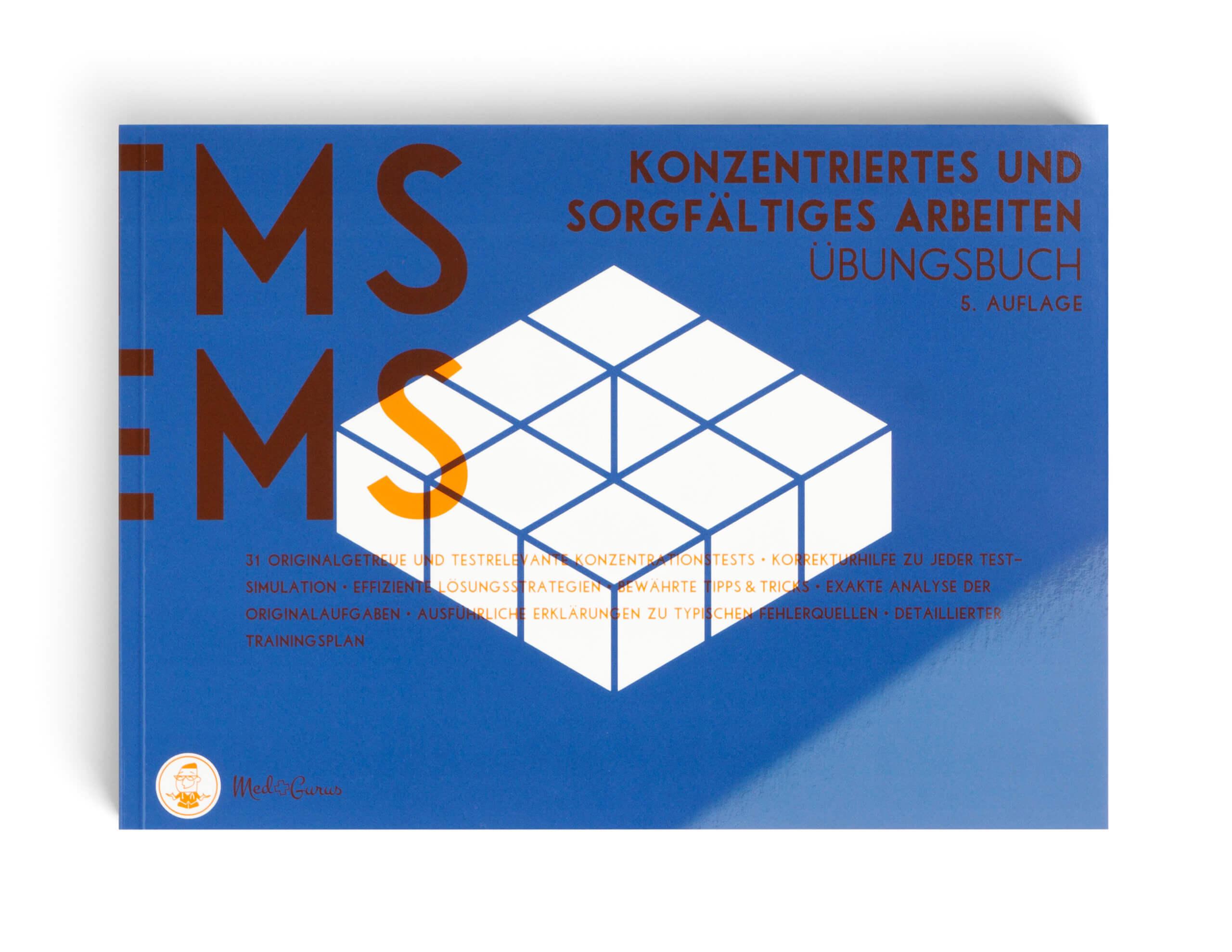 Konzentriertes und sorgfältiges Arbeiten Übungsbuch TMS und EMS