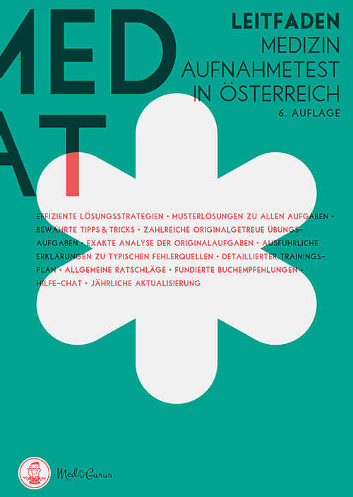 MedAT Vorbereitung 2019 Frontcover Leitfaden