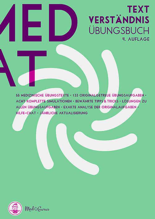 MedAT Vorbereitung 2019 Frontcover Textverständnis
