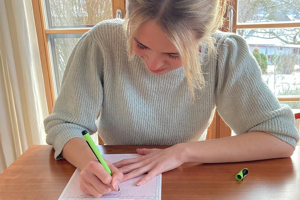 Sophie hat den TMS 2020 geschrieben und darauf einen Studienplatz erhalten! Mit einem Abi von 2,1