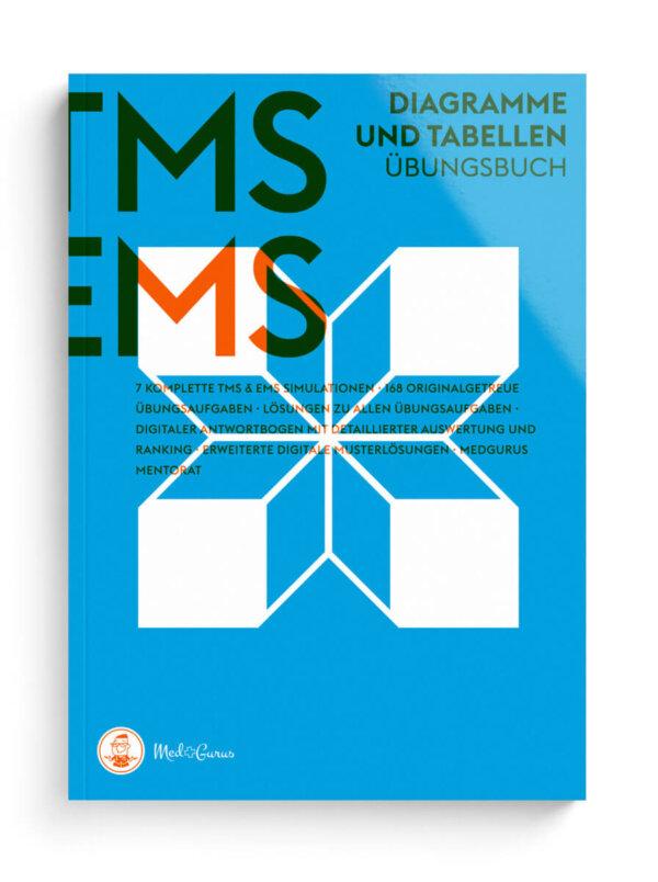 TMS & EMS Übungsbuch Diagramme und Tabellen 2022 Cover