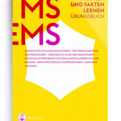 TMS & EMS Übungsbuch Figuren und Fakten lernen 2022 Cover
