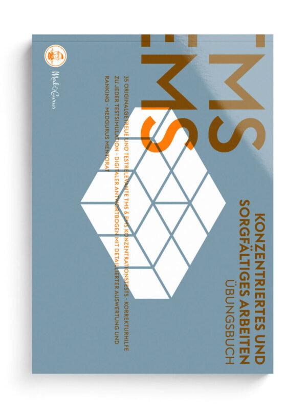 TMS & EMS Übungsbuch Konzentriertes und sorgfältiges Arbeiten 2022 Cover
