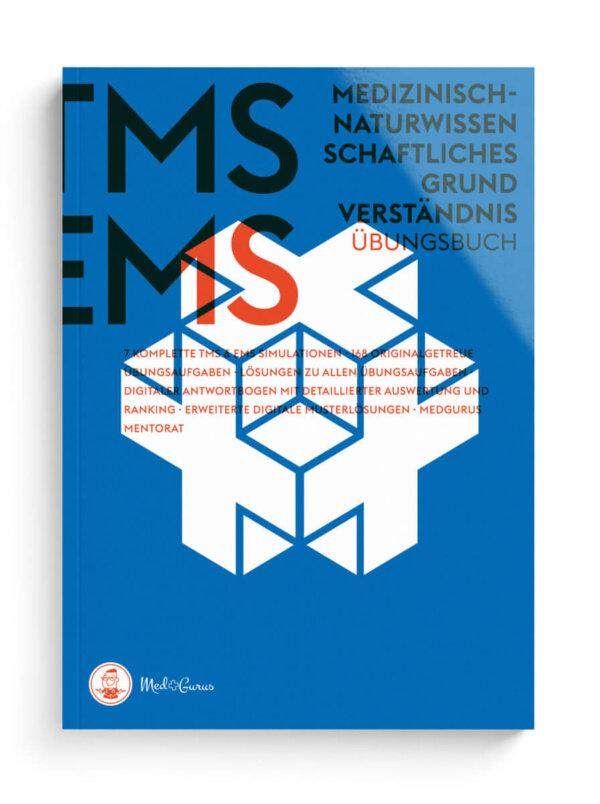 TMS & EMS Übungsbuch Medizinisch-naturwissenschaftliches Grundverständnis 2022 Cover