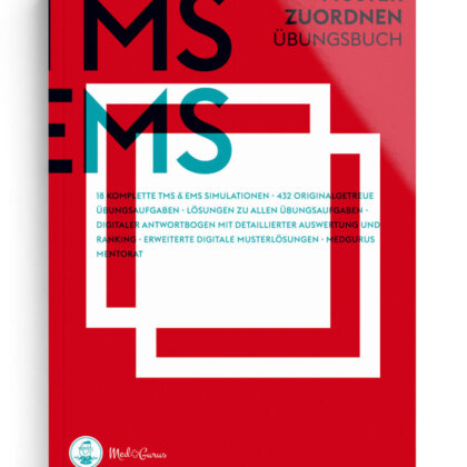 TMS & EMS Übungsbuch Muster zuordnen 2022 Cover