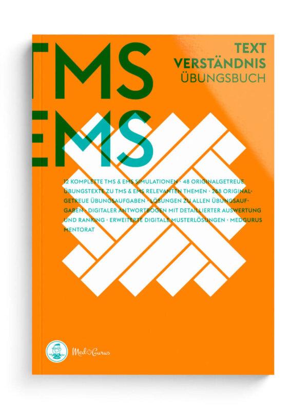 TMS & EMS Übungsbuch Textverständnis 2022 Cover