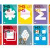 Buchreihe Covers von vorne