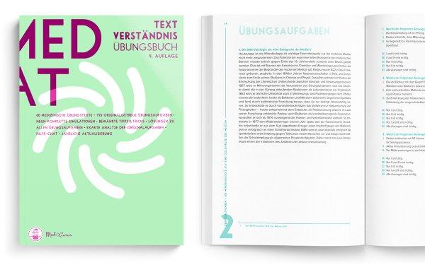 Tetxverständnis MedAT 2020 Cover Inhalt Medizinaufnahmeverfahren Österreich