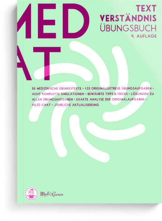 Textverständnis MedAT Cover Übersicht